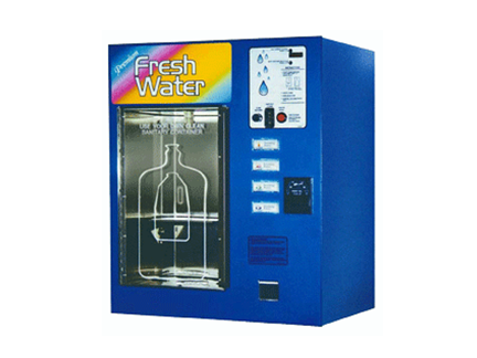 Window Water Vending Machine Station