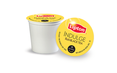 Indulge Rich Black Tea Lipton K-Cups Delivery